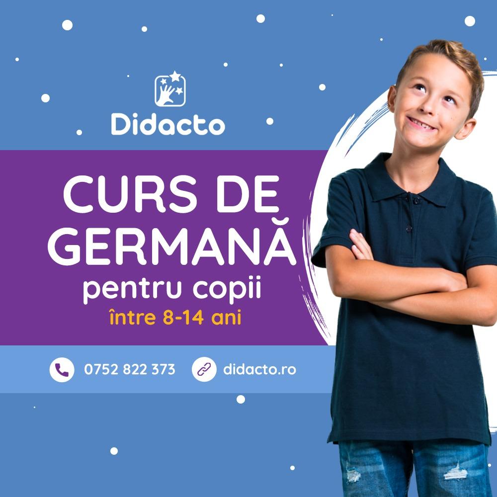 Curs de limba germană online pentru copii