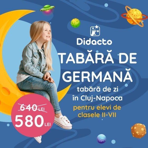 Tabara pentru copii in limba germana in Cluj-Napoca