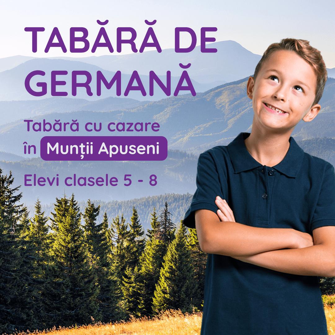Tabără la munte pentru copii