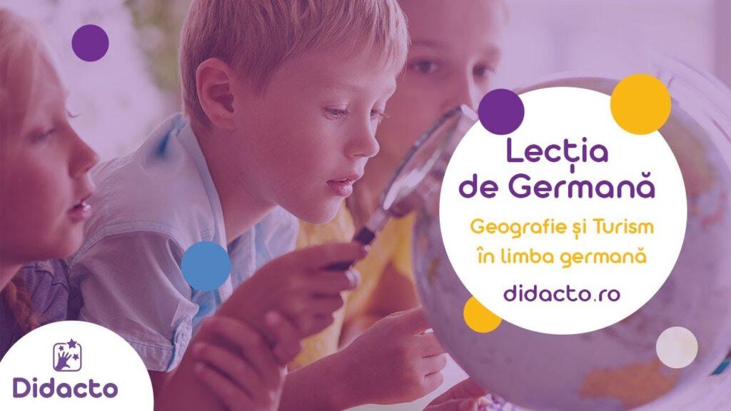 Geografie și turism in germana - Lectii de germana gratuite pentru copii