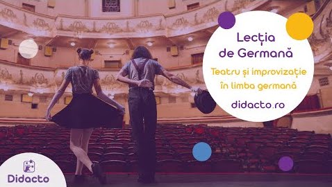 Teatru si improvizatie in germana - Lectii de germana gratuite pentru copii