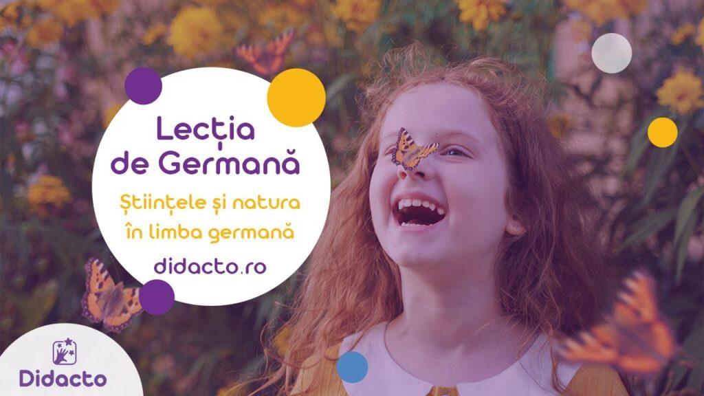 Stiinte si natura in germana - Lectii de germana gratuite pentru copii