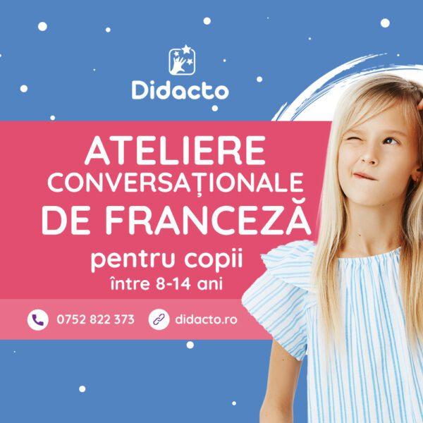 Atelier conversational in limba franceza pentru copii
