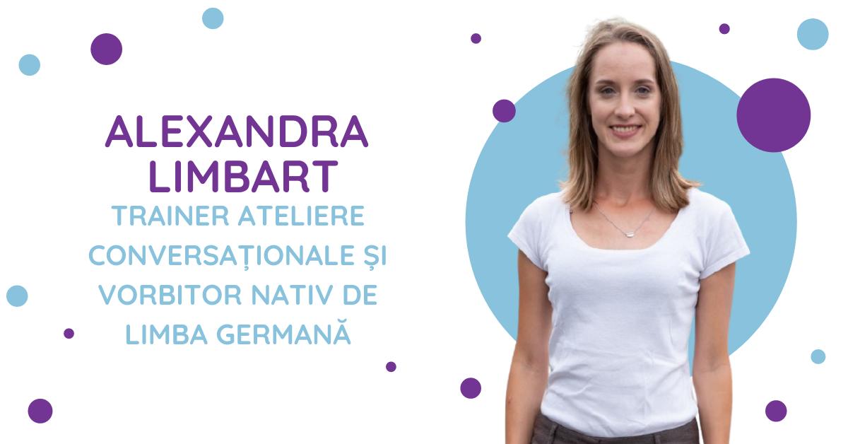 Alexandra Limbart vorbitor nativ de limba germană
